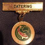 Australian Koi Association Catering pin