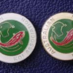 Australian Koi Association Silver Lettering (Left)
