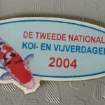 Koi2000 2004 Show pin