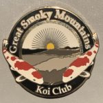 Great Smoky Mountains Koi Club pin prototype