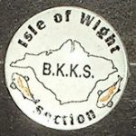 Isle of Wight section trophy pin