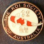KSA original pin / horizontal Kohaku