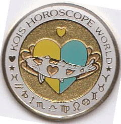 Kois Horoscope World yellow/blue