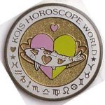 Kois Horoscope World pink/green