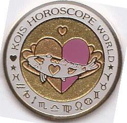 Kois Horoscope World gold/pink