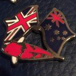 United Kingdom Australian Goshiki friendship pin