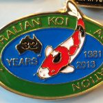 Australian Koi Association 32 years anniversary 2013