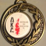 Australian Koi Association Medal pin Gold