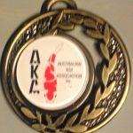 Australian Koi Association Medal pin Gold