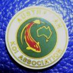Australian Koi Association trophy pin