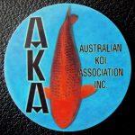 Australian Koi Association trophy pin Kawarimono