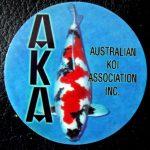 Australian Koi Association trophy pin Showa