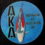Australian Koi Association trophy pin Shusui