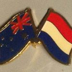 Australian Dutch friendship pin