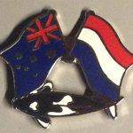 Australian Dutch Kumonryu friendship pin