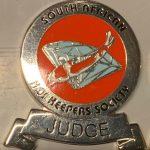 2015 SAKKS Grade B Certified Judge-red on silver