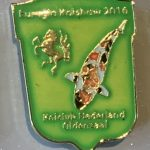 Koi Club Nederland 2016 Green shield