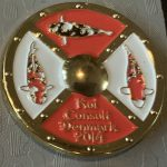 Koi Consult Denmark 2014 White with Gold pin