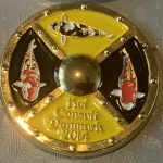 Koi Consult Denmark 2014 Yellow with Gold pin