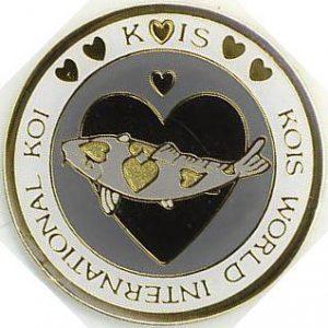 Kois World International Koi black on grey
