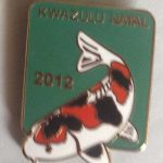 KZN 2012 Show pin - for Judges (Green)