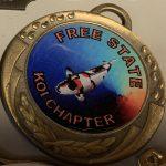 Medal pin SAKKS Free State Chapter