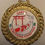 Medal pin SAKKS Gauteng Chapter