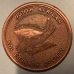 Medal pin SAKKS Bronze