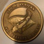 Medal pin SAKKS Gold