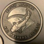 Medal pin SAKKS Silver