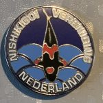 NVN Club pin New Logo Beni Kumonryu