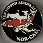 ZNA Nor-Cal Club pin black