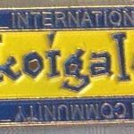 International Koi Community aka Koigalen pin