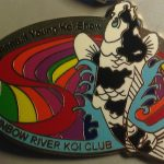 Rainbow River Koi Club 1st Koi Show pin