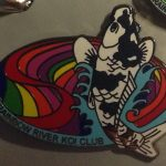 Rainbow River Koi Club pin