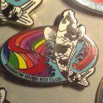 Rainbow River Koi Club pin Small