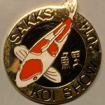 Gauteng Chapter Koi Show pin 2014. General (Kohaku)