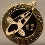KZN Chapter Koi Show pin 2014. General (Shiro)