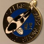 KZN Chapter Koi Show pin 2014. Entrants (Shiro)