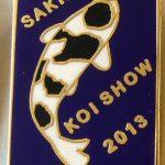 Southern Cape Chapter Koi Show pin 2013 Shiro Utsuri