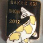 Eastern Cape Chapter Koi Show pin 2012. Hariwake