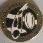 KZN 2011 National Show pin - for Judges (Shiro Utsuri)