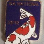 SAKKS NATIONAL Show pin 2012 - for Visitors (Blue)