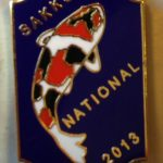 SAKKS NATIONAL Show pin 2013 - for Exhibitors (Blue)