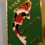 SAKKS NATIONAL Show pin 2013 - for Judges (Green)