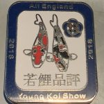 South East Young Koi Show 2018, blue border