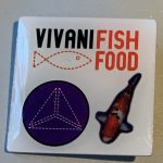 Vivani fish food purple