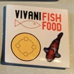 Vivani fish food yellow