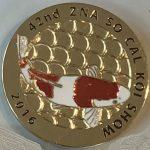 42nd Annual Koi Show 2016 Gold scales