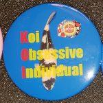 San Diego button Koi Obsessive Individul